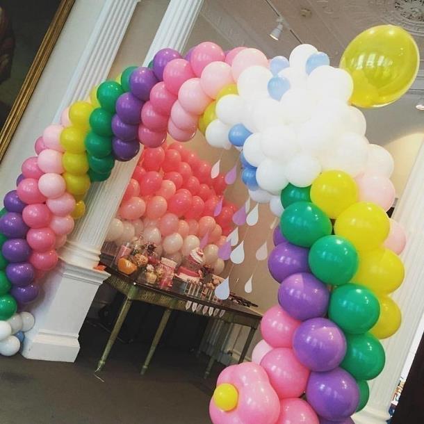 Арка из шаров «Разноцветная»