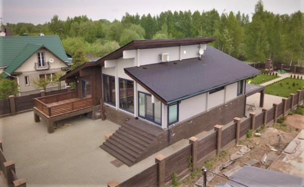 Дом из клееного бруса в Ярославле