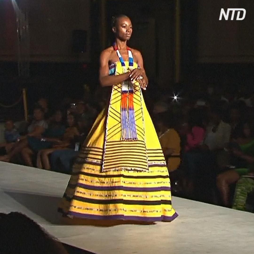 Яркая и роскошная: африканскую моду показали в Лондоне