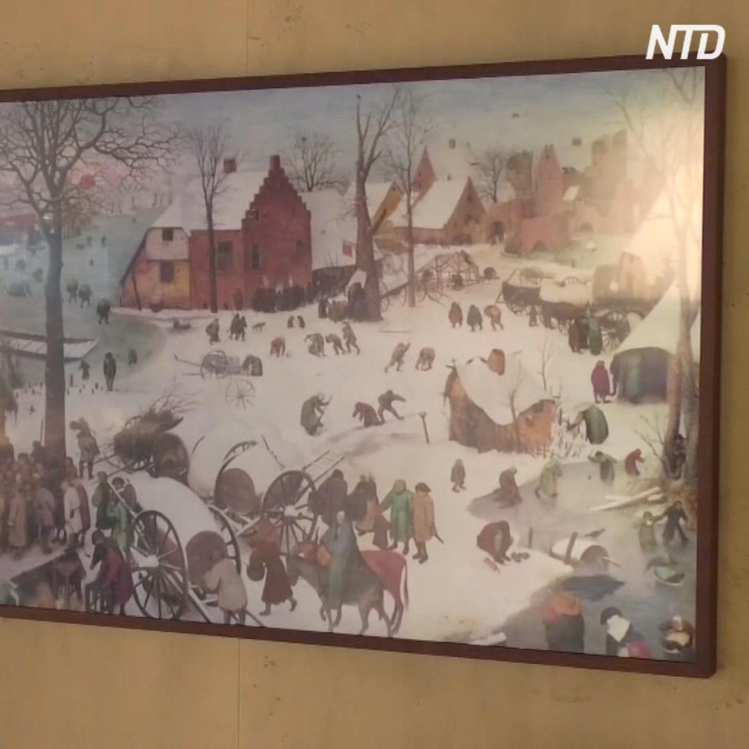 Новые электронные картины: шедевры живописи в вашей гостиной