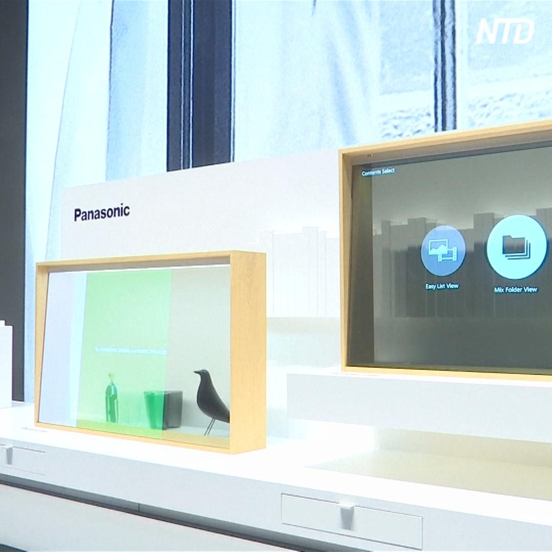 Прозрачные и сворачивающиеся телевизоры: выставка IFA в Берлине