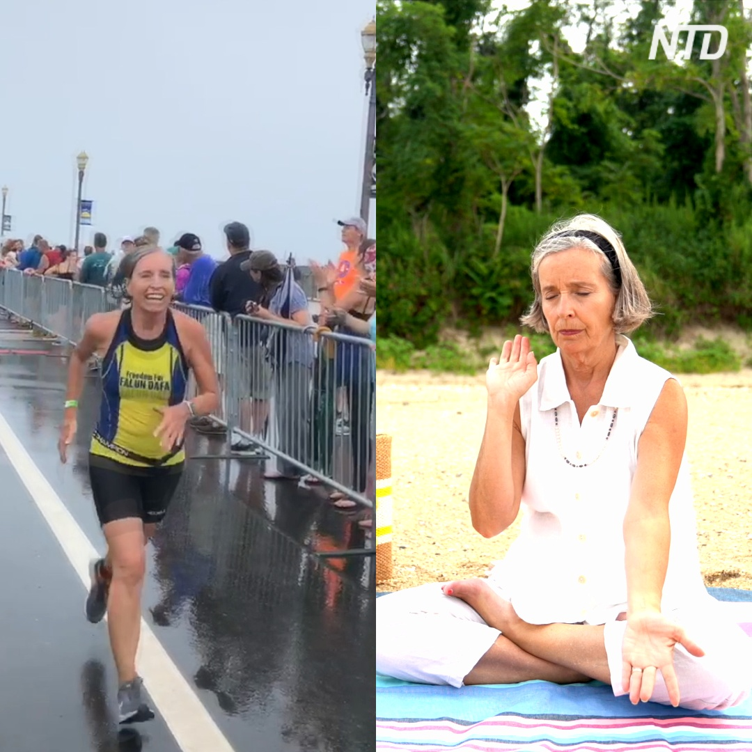 67-летняя американка благодаря медитации занялась триатлоном