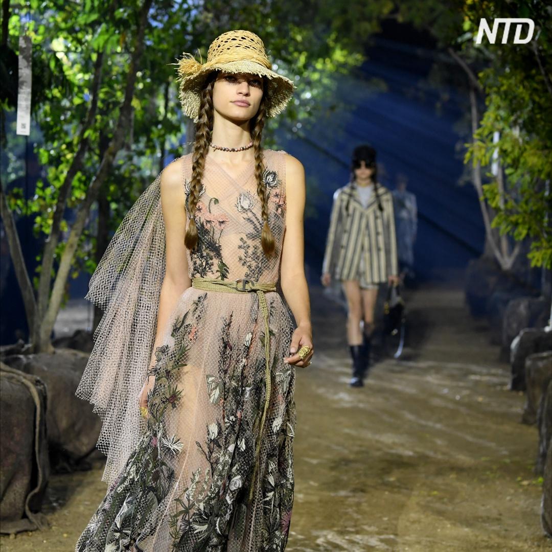 Одуванчики и чертополох: чем удивил Dior в коллекции весна-лето 2020