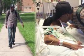 98-летний мужчина проходит по 9 км, чтобы увидеть жену