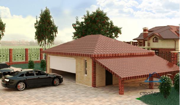 Чем хорош гараж в доме?
