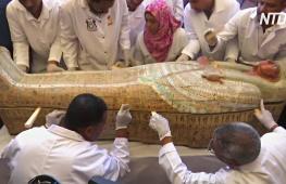 Находка столетия: в Египте раскопали сразу 30 древних саркофагов