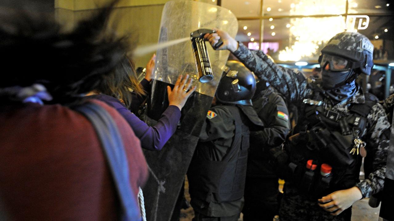 В Боливии результаты выборов президента вызвали ожесточённые протесты