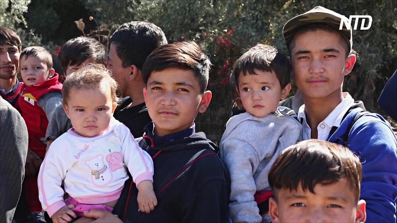 Из-за наплыва беженцев Греция перевозит мигрантов с островов на материк