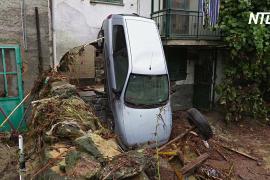 Ливни вызвали хаос на севере Италии, есть жертвы