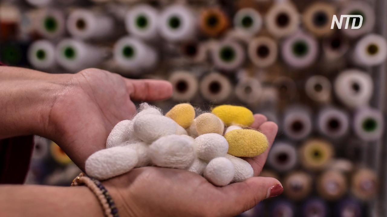Греческие модные ателье помогают спасти традиционное производство шёлка
