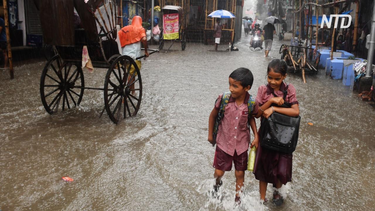 Наводнения в Индии: более 100 погибших за три дня