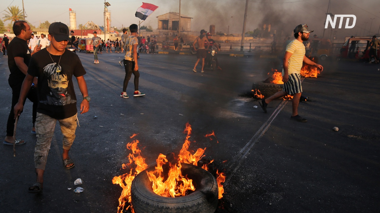 МВД Ирака: за пять дней протестов погибло 100 человек, 6000 ранено