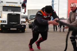 Как показывали силу дальнобойщики на фестивале в Москве