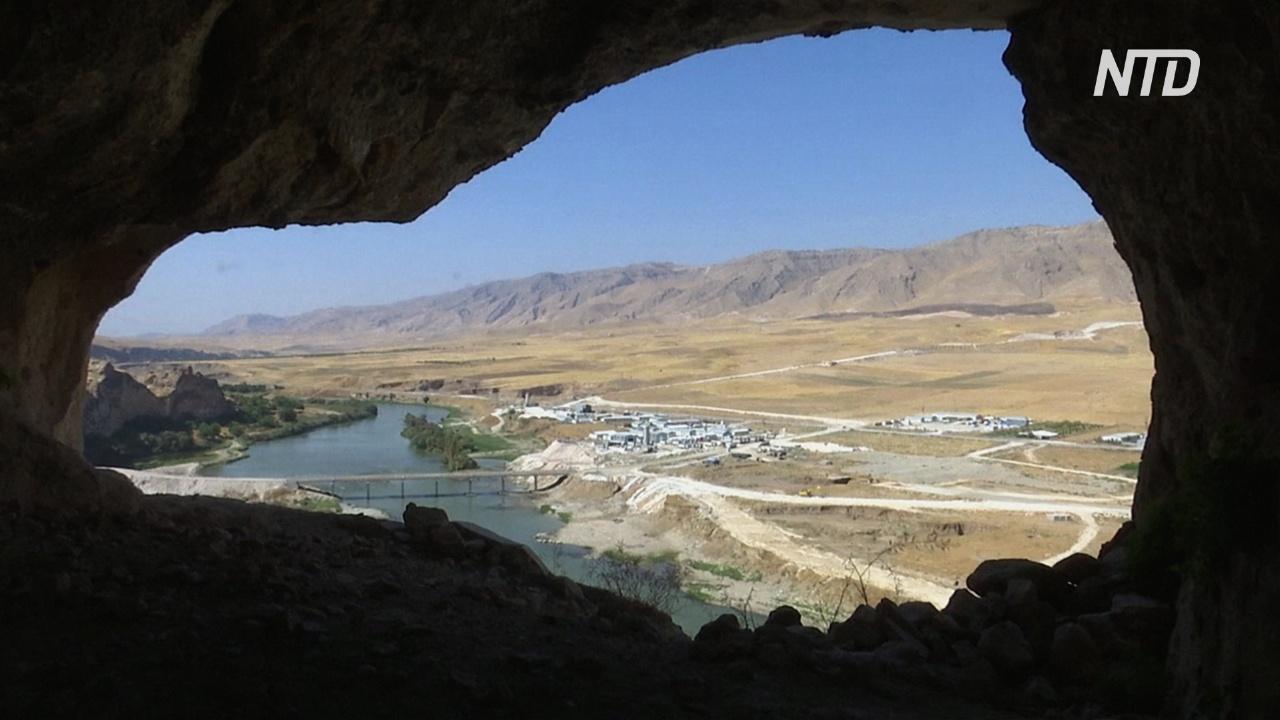 Древний турецкий город Хасанкейф доживает последние дни перед затоплением
