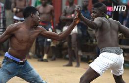 Нигерийцы популяризуют свой национальный бокс дамбе