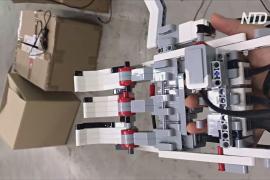 Роботизированную руку-протез из Lego сделали школьники в Южной Корее