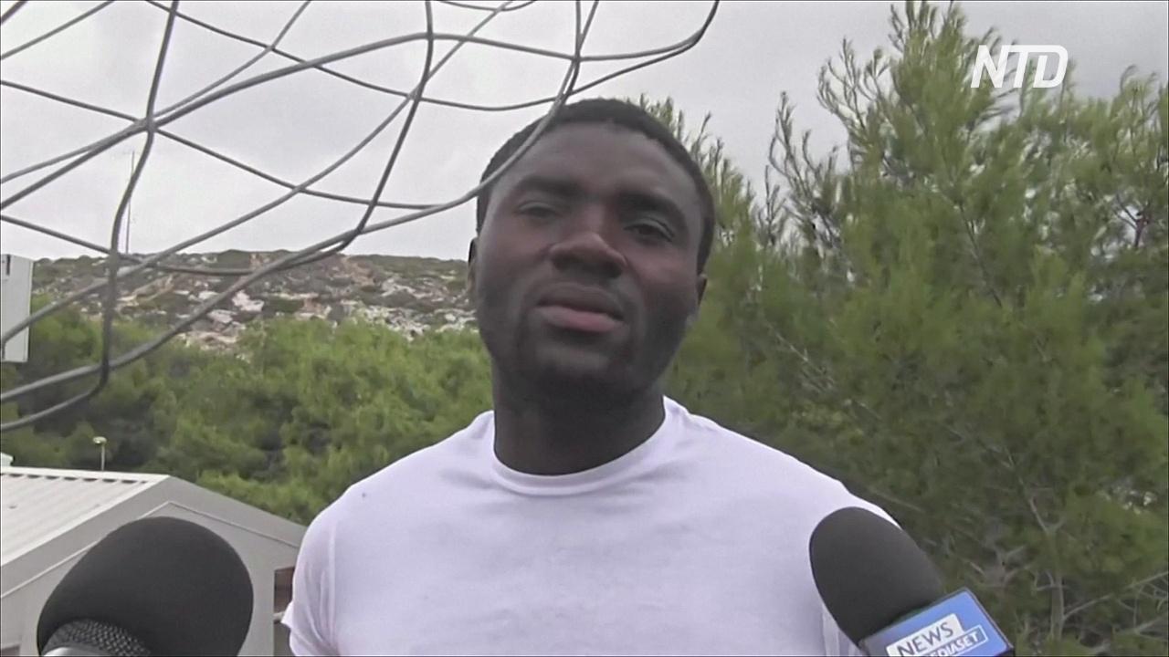 Беженец вспоминает крушение лодки с мигрантами: «Все опустились на дно моря»