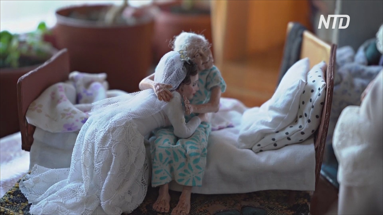 Мир кукольных стариков создала дизайнер из Новосибирска