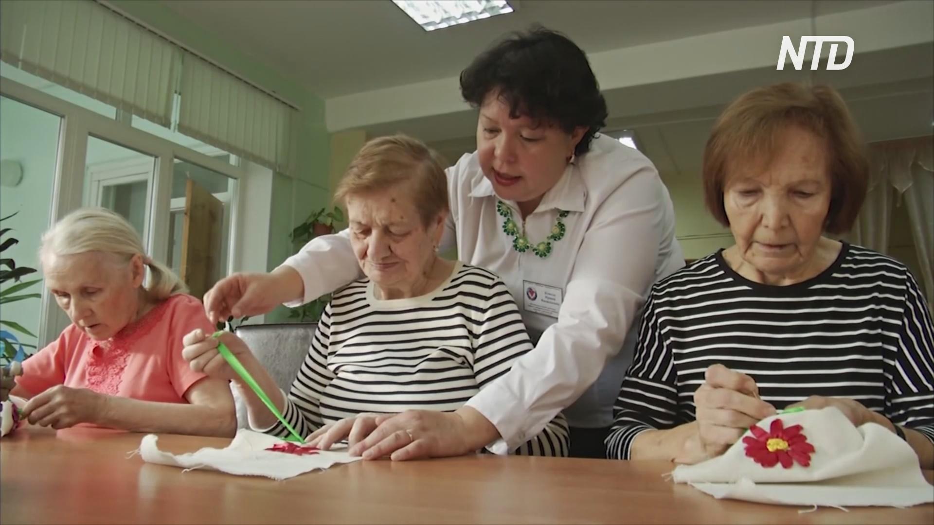 Детский сад для пожилых в Чебоксарах помогает пенсионерам не скучать