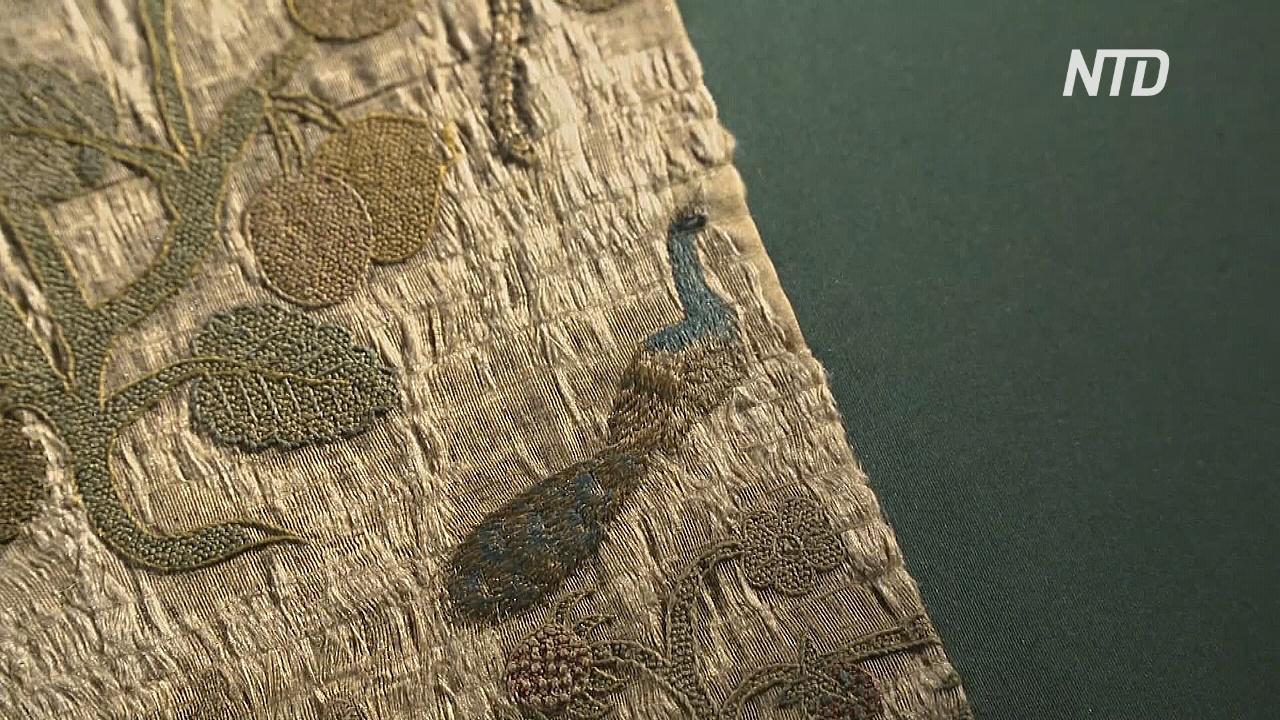 В Великобритании нашли и выставили на обозрение часть одеяния Елизаветы I