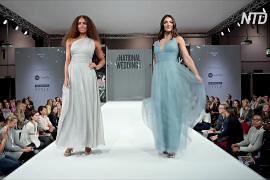 Голубые свадебные платья – новый тренд 2020 года