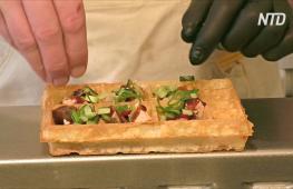Новый имидж бельгийских вафель: начинки из фуа-гра и омаров