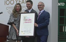 100-летний ресторан Голливуда получил звезду на Аллее славы