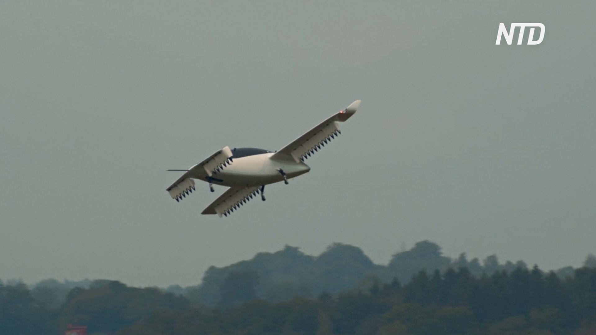 Летающее такси Lilium смогло разогнаться быстрее 100 км/ч