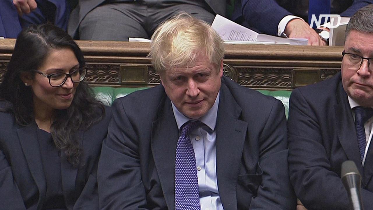 Борис Джонсон сделал паузу в рассмотрении договора о «брексите» в парламенте