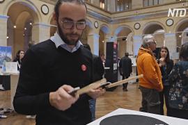 Виртуальные барабанные установки и летающие блендеры: выставка CES в Париже