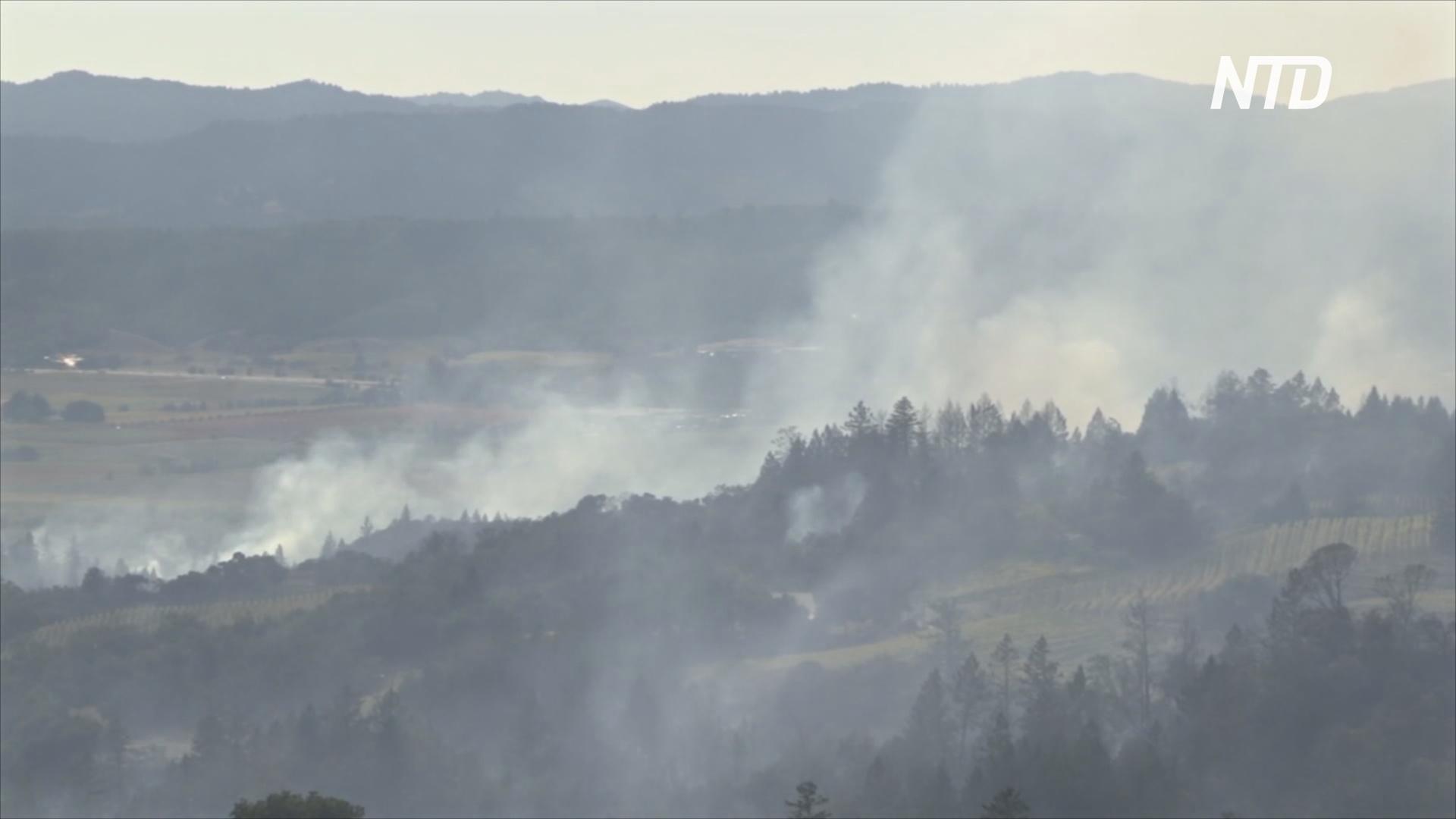 Пожары в Калифорнии: эвакуируют десятки тысяч жителей
