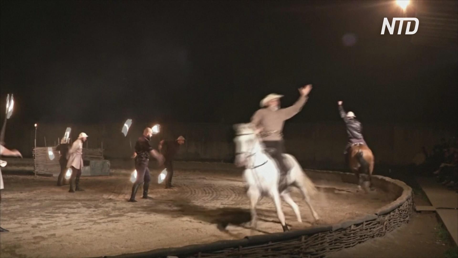 Первая премьера за 13 лет: осетинский конный театр выжил, несмотря на трудности