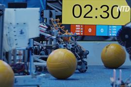 Роботы в Дубае соревновались в сборе мусора
