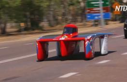 Ралли «солнечных» авто: электромобили пересекут Австралию