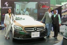 Mercedes по-индийски: 350 000 бриллиантов на кузове