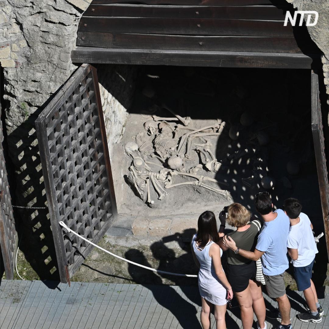 Дом, погребённый Везувием, открыли после 30-летней реставрации
