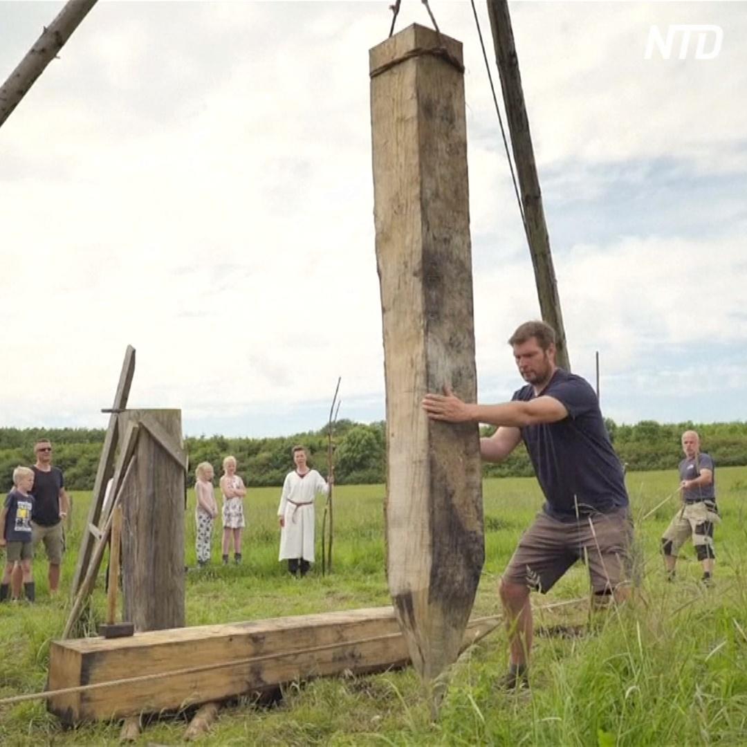 700-метровый мост построили в Дании по технологии викингов