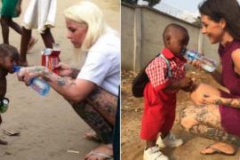 Датчанка спасла малыша от смерти и дала ему имя Надежда