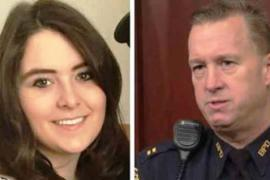 Неожиданная помощь полицейского удивила девушку