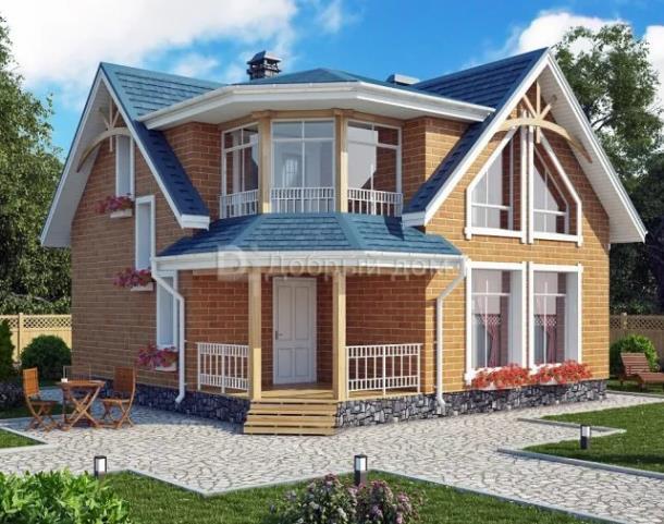 Проект дома AS-2362