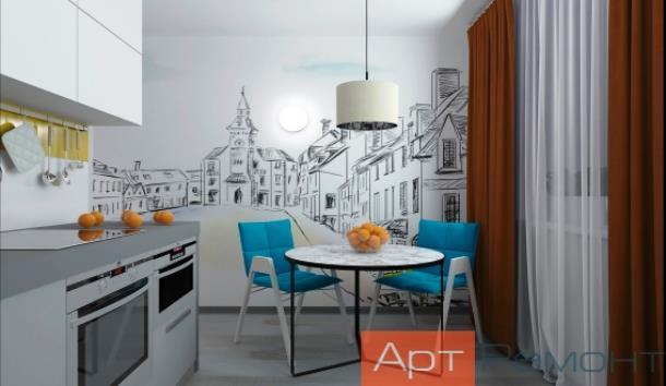 Ремонт однокомнатной квартиры «под ключ»
