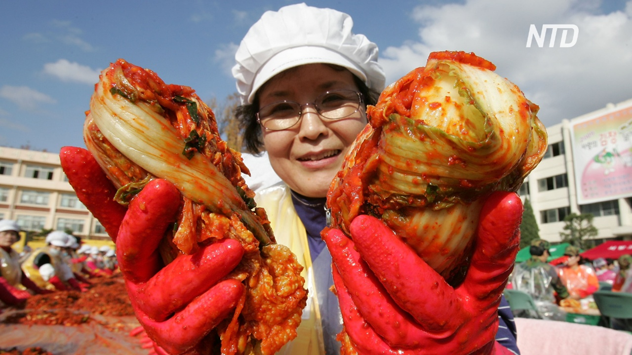 Фестиваль кимчхи: в Сеуле 2000 человек приготовили 35 тонн корейского блюда