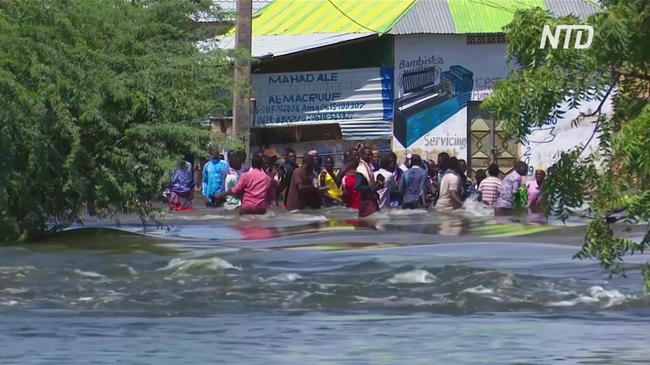 ООН доставляет помощь в пострадавшие от ливней регионы Сомали