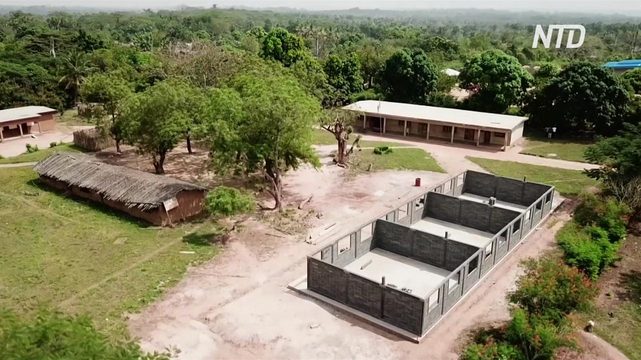Школы в Кот д'Ивуаре будут строить из пластиковых кирпичей