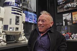 «Привет, робот»: на выставку в Шотландию привезли R2-D2 из «Звёздных войн»