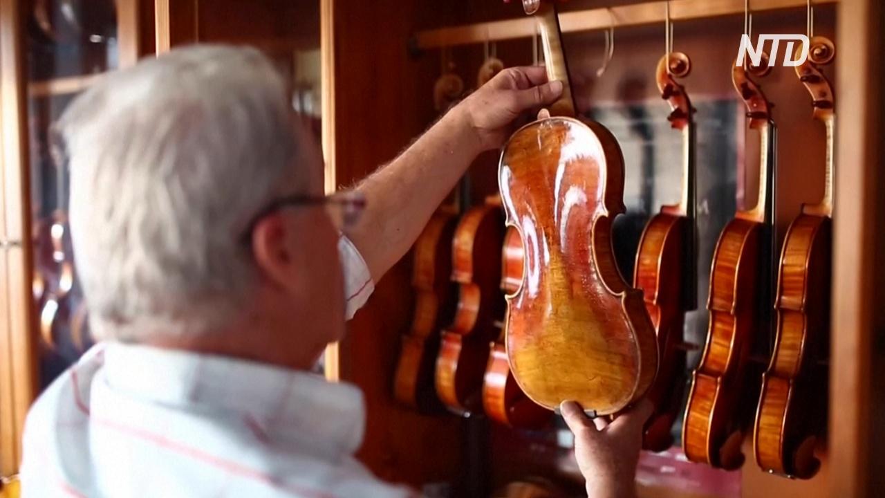Северомакедонец стал успешным скрипичным мастером-самоучкой
