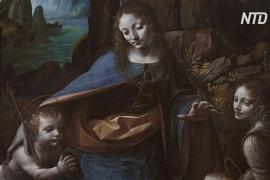 Выставка в Лондоне рассказывает, как да Винчи создавал «Мадонну в скалах»