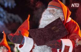 Санта-Клаус открыл рождественский сезон и призвал всех стать добрее
