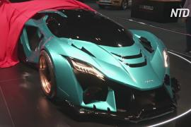 Рекордный разгон: на мотор-шоу в Дубае показали электрогиперкар Aspark Owl