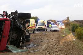 В Словакии грузовик врезался в автобус: 12 погибших и 17 пострадавших